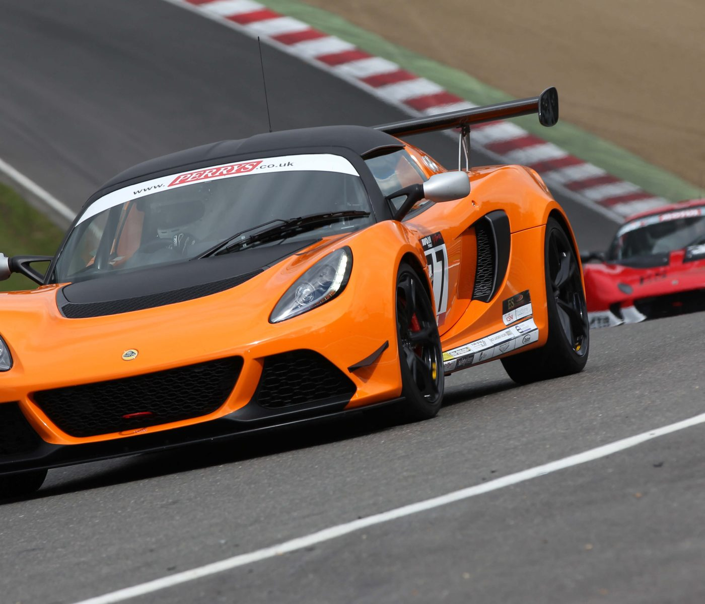 Motorsport Website for Track Group