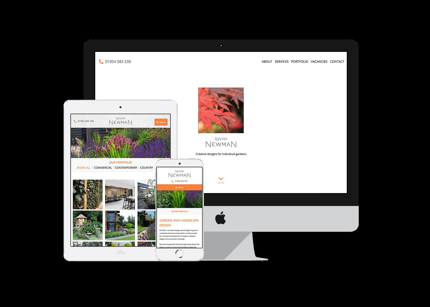 Garden Design Vacancies website design & wordpress development for cambridge garden designers